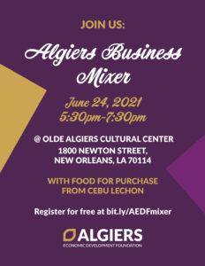Algiers Business Mixer